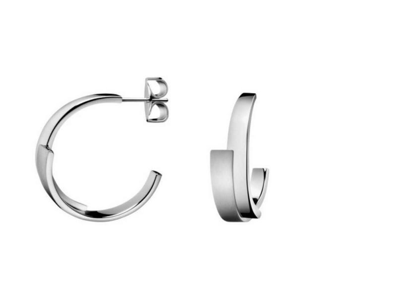 super beliebt neuesten Stil Rabatt-Sammlung Calvin Klein KJ2HME080100 dames creolen scheepstouw